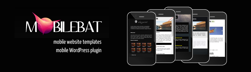 mobilebat - mobile website templates