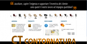 Webpage for CT Contornatura Srl.