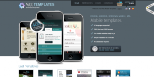 Mobile website templates and CMS development.
