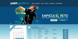 Admin panel development for Padel sport clubs.