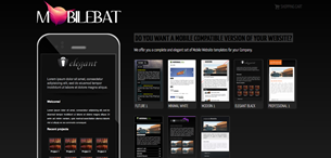 WordPress Mobile Website Templates plugin. Go to Mobilebat